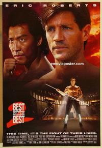 f076 BEST OF THE BEST 2 one-sheet movie poster '93 Eric Roberts, Rhee