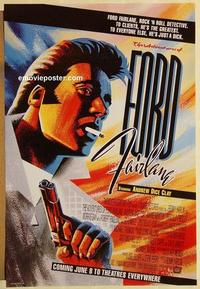 f016 ADVENTURES OF FORD FAIRLANE DS advance one-sheet movie poster '90 Clay