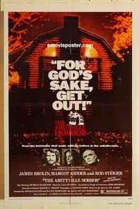 k044 AMITYVILLE HORROR one-sheet movie poster '79 AIP, James Brolin