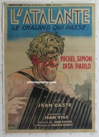 Atalante, L' (French) 27x40 Movie Poster (1934) en 2019 ...