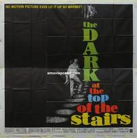 k037 DARK AT THE TOP OF THE STAIRS six-sheet movie poster '60 Preston, McGuire