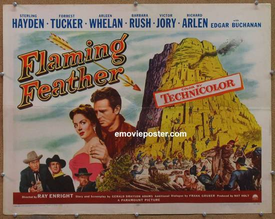 feather 1952 flaming