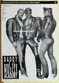 a review of daddy and the muscle academy a film by iippo pohjola Director: ilppo pohjola starring: tom of finland (on sam) running time: 0:58:00.