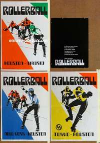 k057 ROLLERBALL special movie portfolio '75 James Caan