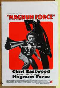 f045 MAGNUM FORCE Belgian movie poster '73 Clint Eastwood, Dirty Harry