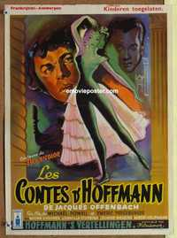 f059 TALES OF HOFFMANN Belgian movie poster '51 Powell & Pressburger