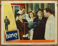 m026 HARVEY movie lobby card #2 '50 Cecil Kellaway and four others!