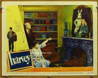 m022 HARVEY movie lobby card #4 '50 James Stewart & rabbit portrait!