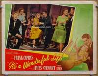 m010 IT'S A WONDERFUL LIFE movie lobby card #3 '46 Jimmy & Donna dance