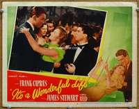 m006 IT'S A WONDERFUL LIFE movie lobby card #6 '46 Jimmy dances w/Reed