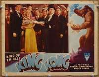 m037 KING KONG #6 movie lobby card R46 at the New York ape premiere!