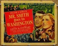 m011 MR SMITH GOES TO WASHINGTON movie title lobby card '39 Frank Capra