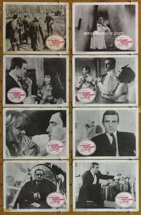 p082 2nd BEST SECRET AGENT 8 movie lobby cards '65 silly spy spoof!