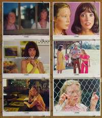 p610 3 WOMEN 6 movie lobby cards '77 Robert Altman, Shelley Duvall