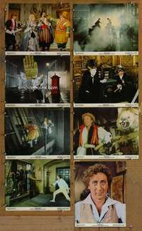 p089 ADVENTURE OF SHERLOCK HOLMES' SMARTER BROTHER 8 color 11x14 movie stills