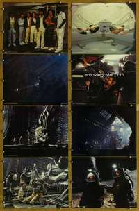 p099 ALIEN 8 color 11x14 movie stills '79 Sigourney Weaver, sci-fi!
