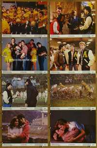 p100 ALL THE RIGHT MOVES 8 color 11x14 movie stills '83 Tom Cruise