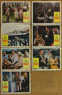 p486 ALVAREZ KELLY 7 movie lobby cards '66 William Holden, Widmark