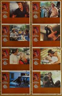 p105 ANY WHICH WAY YOU CAN 8 movie lobby cards '80 Clint Eastwood