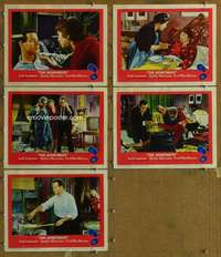 p727 APARTMENT 5 movie lobby cards '60 Billy Wilder, Lemmon, MacLaine