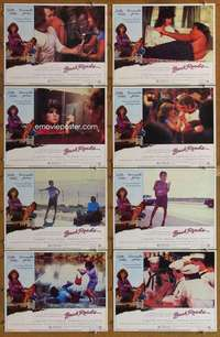 p113 BACK ROADS 8 movie lobby cards '81 Sally Field, Tommy Lee Jones