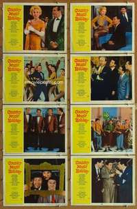 p160 COUNTRY MUSIC HOLIDAY 8 movie lobby cards '58 Zsa Zsa Gabor