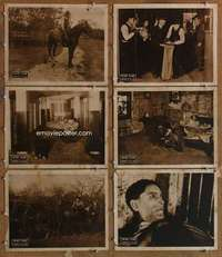 p626 DEBTOR TO THE LAW 6 movie lobby cards '19 outlaw Henry Starr!