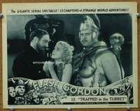t077 FLASH GORDON #3 Chap 12 movie lobby card '36 Jean Rogers
