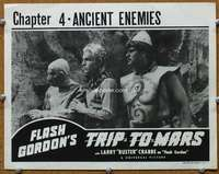 t079 FLASH GORDON'S TRIP TO MARS Chap 4 movie lobby card R40s serial