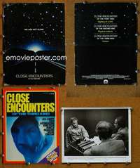 t063 CLOSE ENCOUNTERS OF THE THIRD KIND movie presskit '77