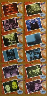 t047 METROPOLIS 12 Spanish movie lobby cards R84 Fritz Lang classic!