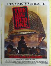 k066 BIG RED ONE French one-panel movie poster '80 Samuel Fuller, Lee Marvin