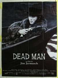 k077 DEAD MAN French one-panel movie poster '95 Johnny Depp, Jim Jarmusch