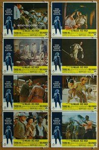 h084 ACE HIGH 8 move lobby cards '69 Eli Wallach, Terence Hill
