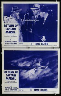h027 ADVENTURES OF CAPTAIN MARVEL 2 Chap 3 move lobby cards R53 best!