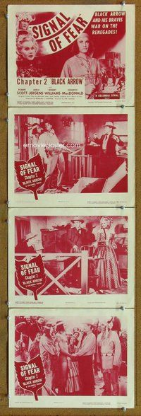 h046 BLACK ARROW 4 Chap 2 move lobby cards R55 Native Americans!