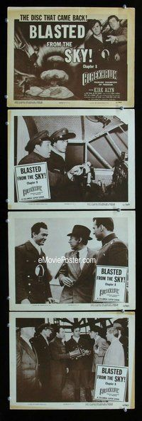 h056 BLACKHAWK 4 Chap 8 move lobby cards '52 serial from comic book!