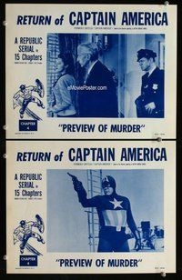 h047 CAPTAIN AMERICA 2 Chap 4 move lobby cards R53 in costume!