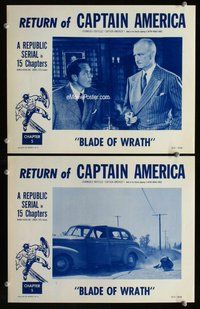 h048 CAPTAIN AMERICA 2 Chap 5 move lobby cards R53 thrown from car!