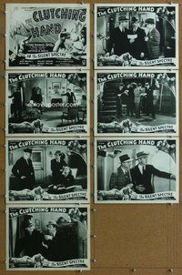 h026 CLUTCHING HAND 7 Chap 14 move lobby cards '36 serial, Mulhall