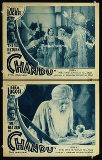 h022 RETURN OF CHANDU 2 Chap 7 move lobby cards '34 cool swami guy!