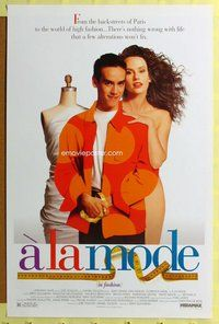 p064 A LA MODE one-sheet movie poster '93 sexy French Florence Darel!