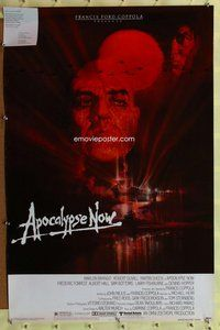 p077 APOCALYPSE NOW one-sheet movie poster '79 special Academy sample!