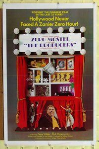 p044 PRODUCERS one-sheet movie poster '67 Mel Brooks, Zero Mostel