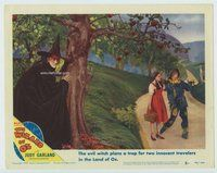 d002 WIZARD OF OZ movie lobby card #5 R49 Wicked Witch plans a trap!