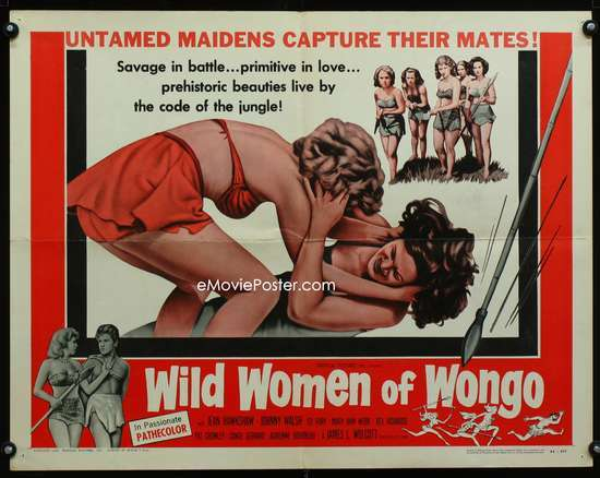 WILD WOMEN OF WONGO: FF 1/2sh