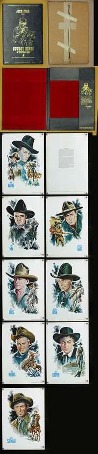 p010 COWBOY KINGS OF WESTERN FAME movie tribute book '73