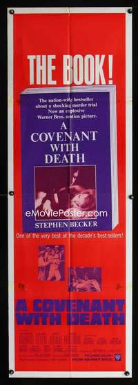 p038 COVENANT WITH DEATH door panel movie poster '67 George Maharis