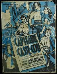p061 CAPTAIN CAUTION Moroccan 34x45 movie poster '40 Victor Mature
