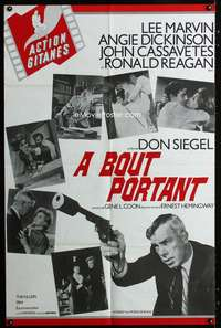 p054 KILLERS French 31x48 movie poster '64 Lee Marvin, Don Siegel